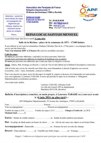 Inscription APF Repas local Saintais mensuel juin 2016.jpg