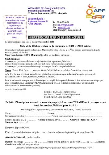 Inscription APF Repas local Saintais mensuel décembre 2016.jpg