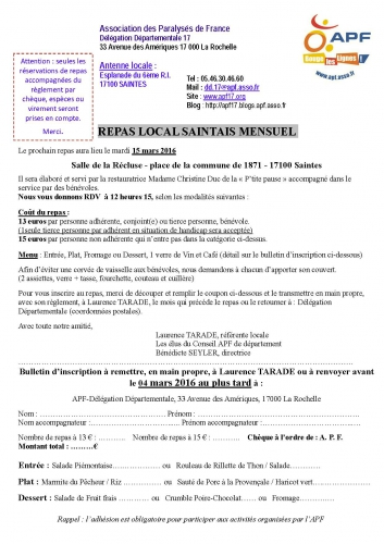 Inscription APF Repas local saintais mensuel mars 2016.jpg